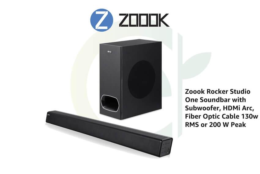 ZOOOK launches studio solo soundbar in India - The Content Park